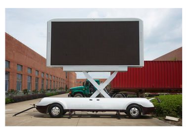 Real Pixels P6 Big Outdoor Led Screen Rental , Football Stadium Screen 192 * 192mm