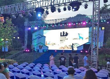 HD Light Weight P4.81 Outdoor Rental Led Screen Smd3528 Great waterproof