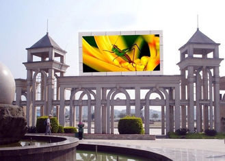 Highest Effective LED Advertising Screen , Outdoor LED Video Display 8mm Pixel Pitch