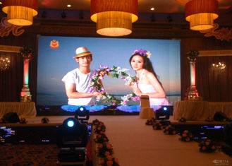 RGB Die Casting P2.5 HD Led Display Indoor For Stage Background , 2 Years Warranty