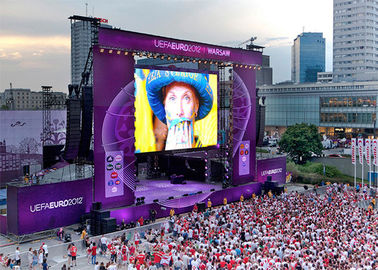 China High Definition P4.81 Outdoor Rental LED Display Portable LED Video Screen wall