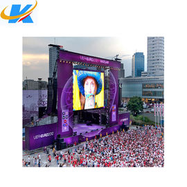 SMD Full Color Outdoor Rental Led Screen 4mm Pixel Pitch Aluminium Profile Cabinet