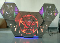 Gorgeous Various Shape Dj Booth LED Screen Adjustable Brightness Full Color