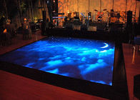 Epistar SMD Stage LED Screen 3 In1 P6 Indoor Aluminium Alloy Dance Floor Images