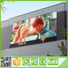 RGB Large Outdoor Led Display Screens 1920Hz Refresh Rate 1/4 Scan 10 Mm Pixel Pitch