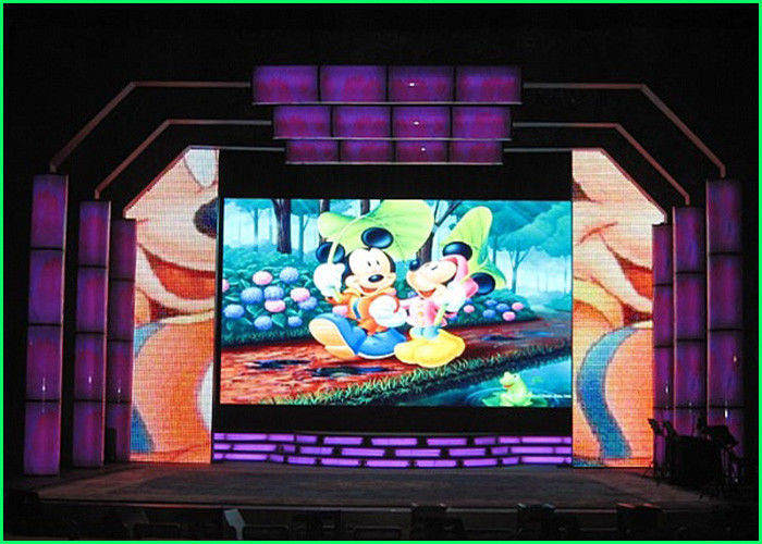 Black Chip Indoor LED Displays for Stage Performance 100000 Hours