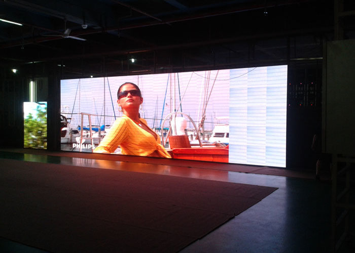 High Refresh ultra thin Led Panel Video Wall for Exhibition , 128*128 Cabinet Resolution