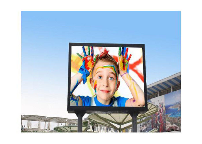 Thin Hanging 3535 SMD Led Screen P6 / LED Advertising Screen 192 * 192mm