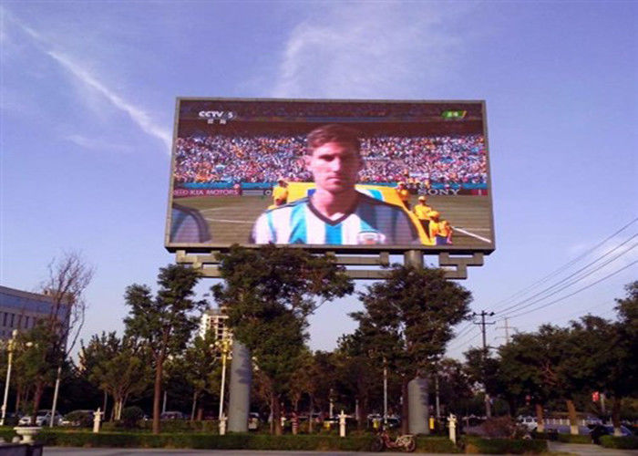Advertising P8 Smd Led Screen Display , Commercial Led Outdoor Screen High Refresh Rate