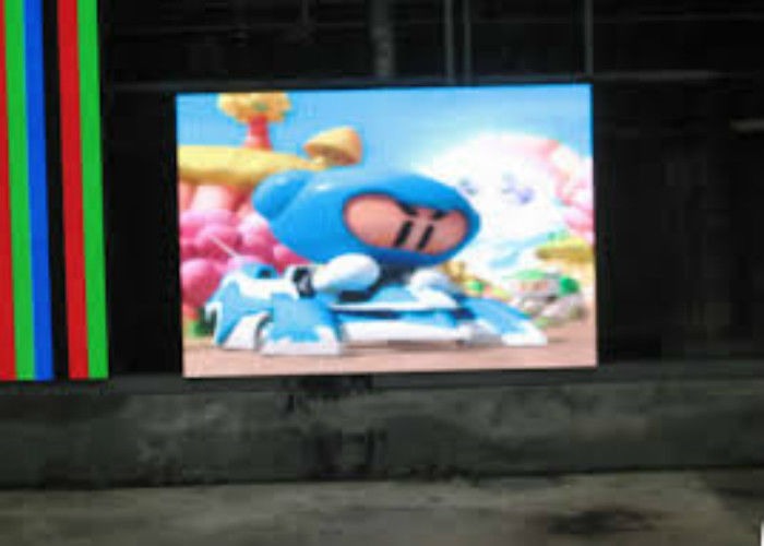 P6 Outdoor Big Screen LED TV LED Display Video High Brightness For Advertising