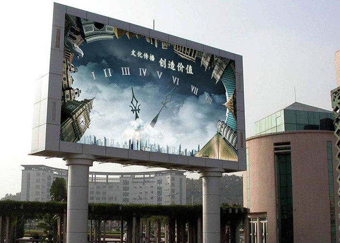 Advertising Outdoor Full Color Led Display 32*16 Pixels Smd 3535 Customized Size