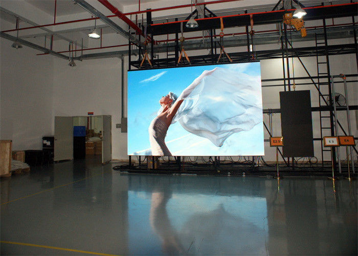 HD Full Color P3.91 Indoor Rental LED Screen Rental SMD 250mm*250mm Panel Size